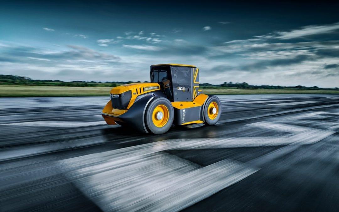 Najszybszy ciągnik świata JBC